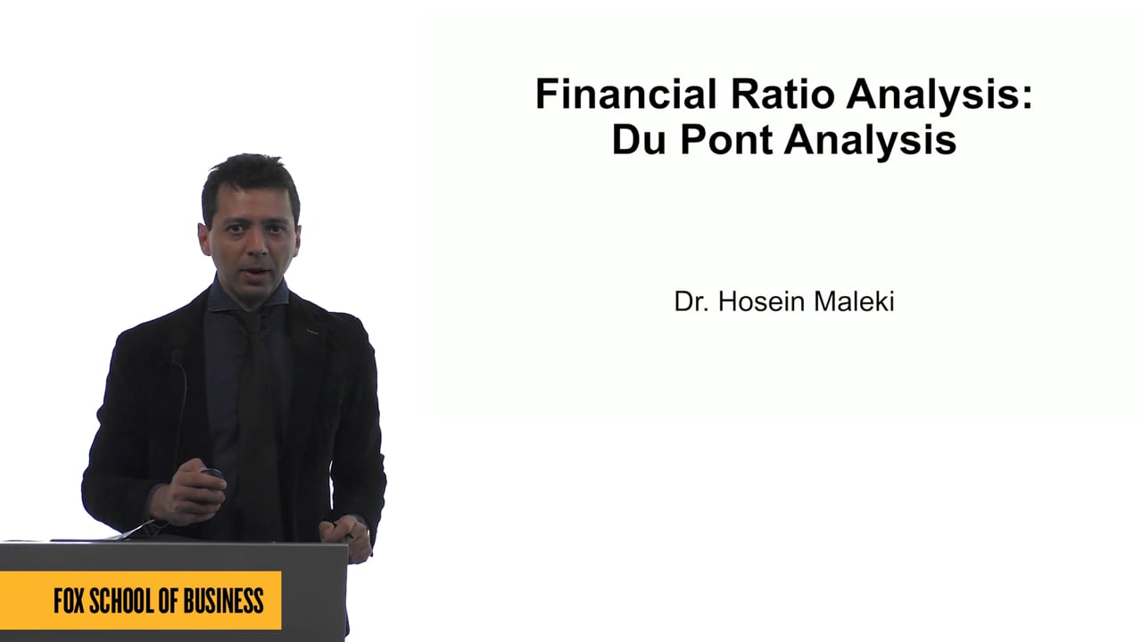 61577Financial Ratio Analysis: Du Pont Analysis