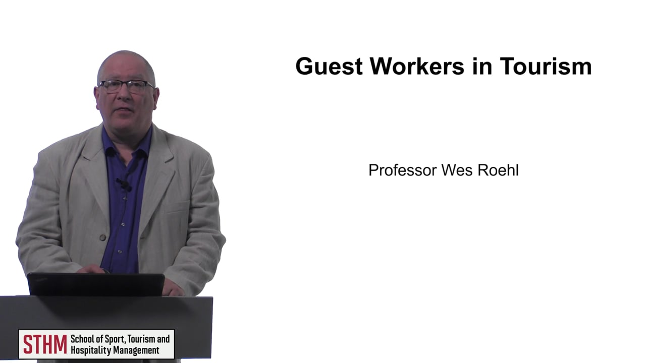 61579Guest Workers in Tourism