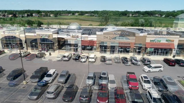 Romeo Commons - 18309 Hall Rd - Redico - Commercial Real Estate Drone Video