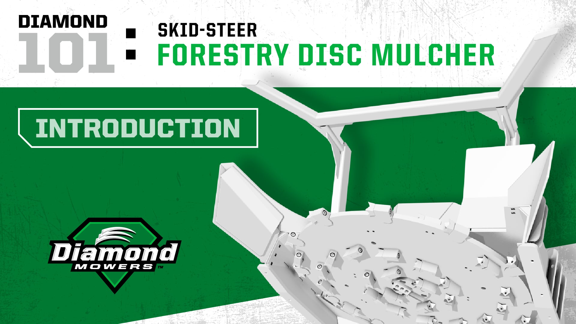 Skid-Steer Forestry Disc Mulcher - Introduction