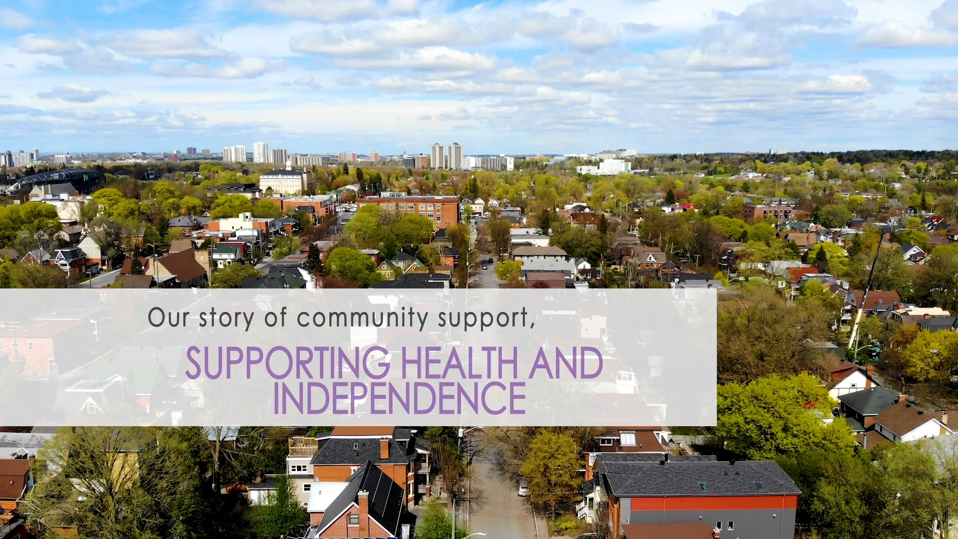Supporting Health and Independence - My Story of Community Support