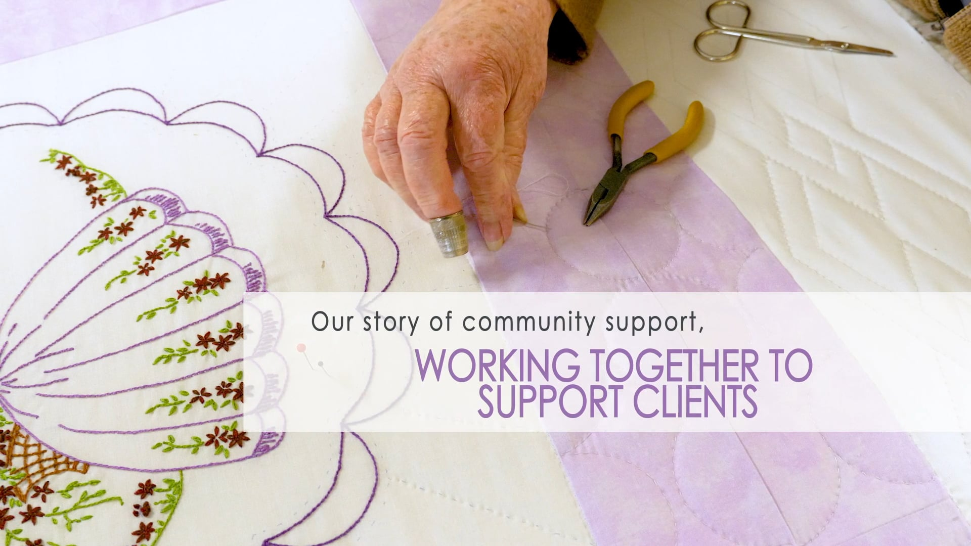 Working Together to Support our Clients - My Story of Community Support