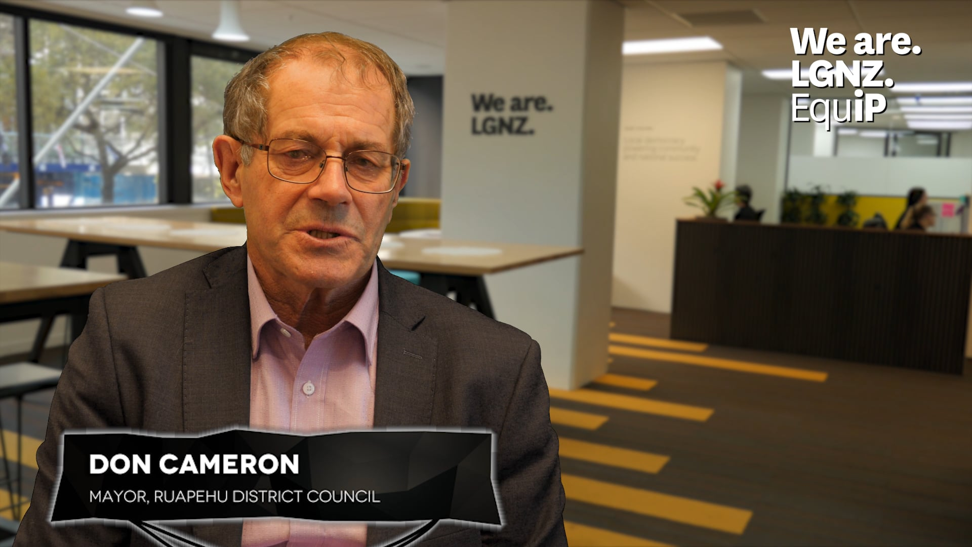 Elected Member Induction - Don Cameron