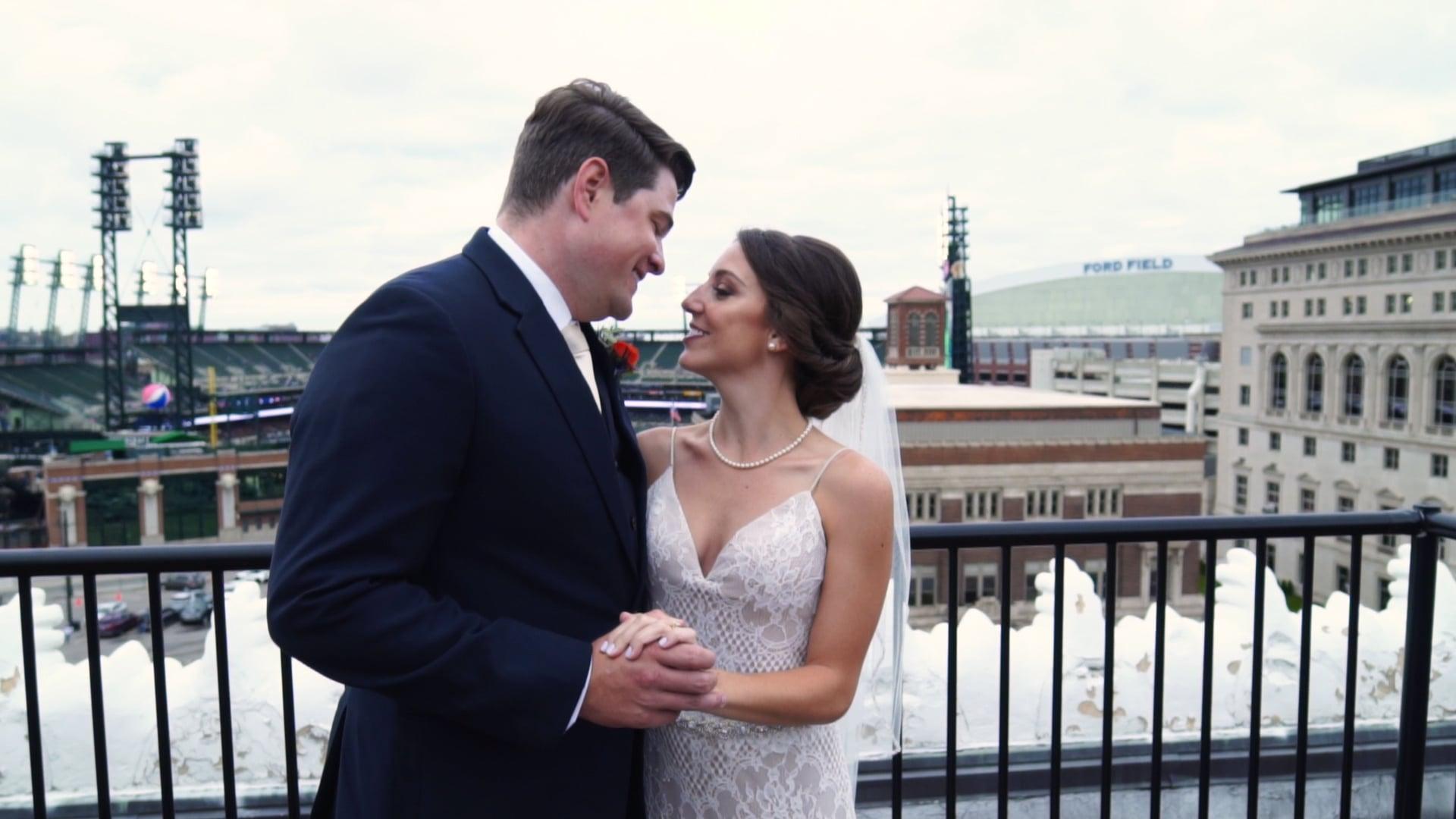 Detroit Opera House Wedding | Katie + John Trailer