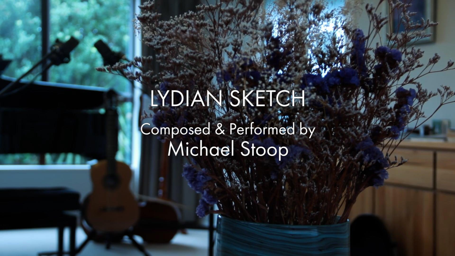 Lydian Sketch - Michael Stoop