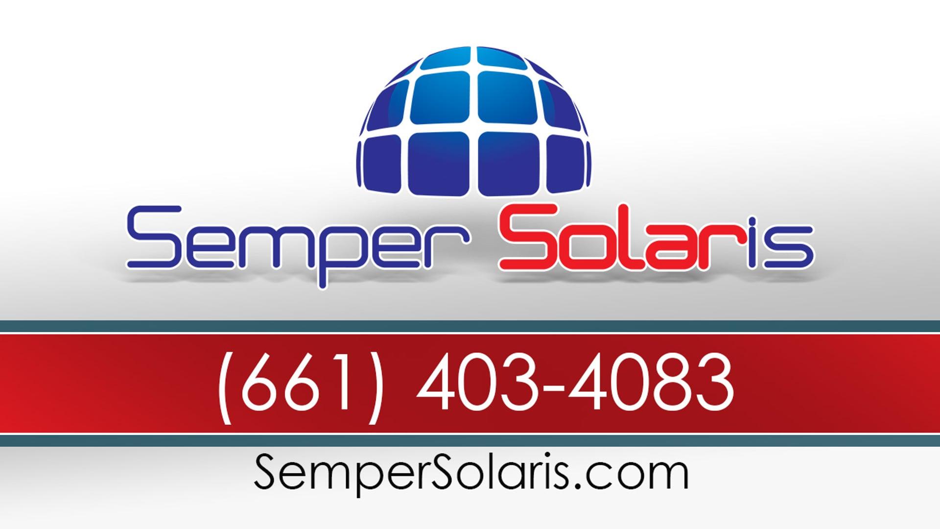 Bakersfield Solar Financing Options | Semper Solaris | (661) 403-4083