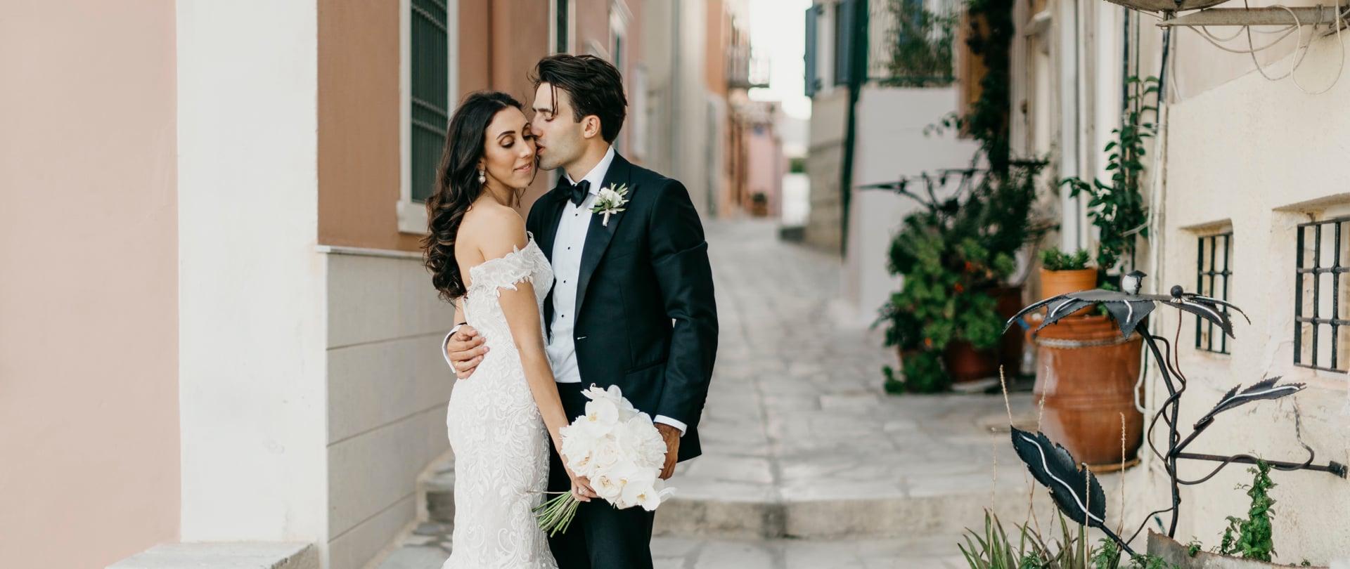 Helena & Will Wedding Video Filmed at Syros, Greece