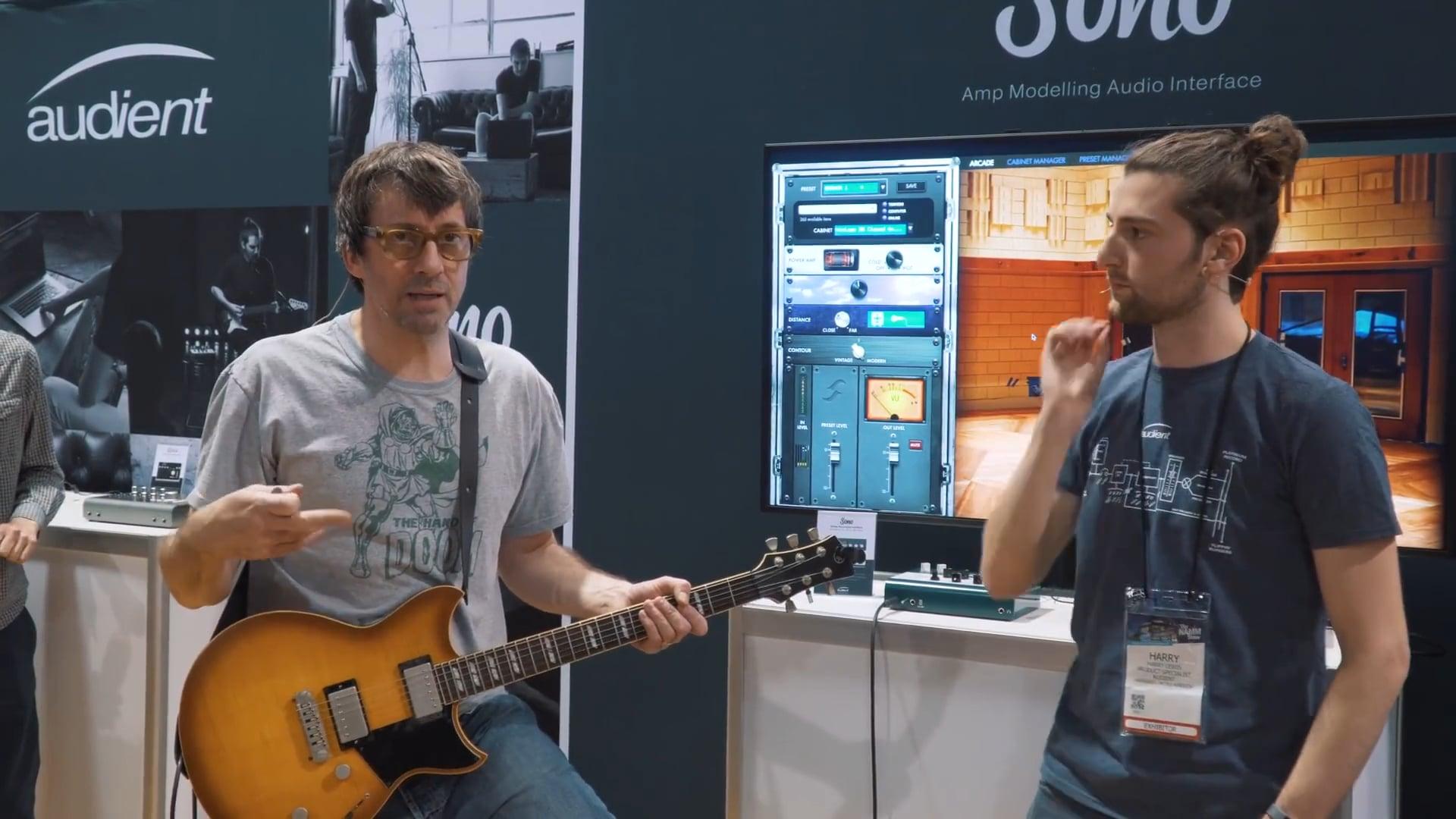 Graham Coxon Guitar Playthrough with Audient Sono