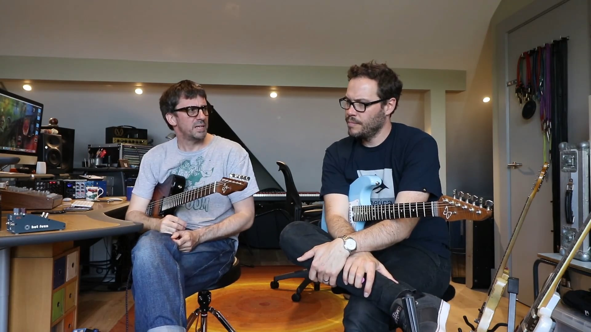 Graham Coxon & Thomas Gray Interview - Warren Huart Produce Like A Pro