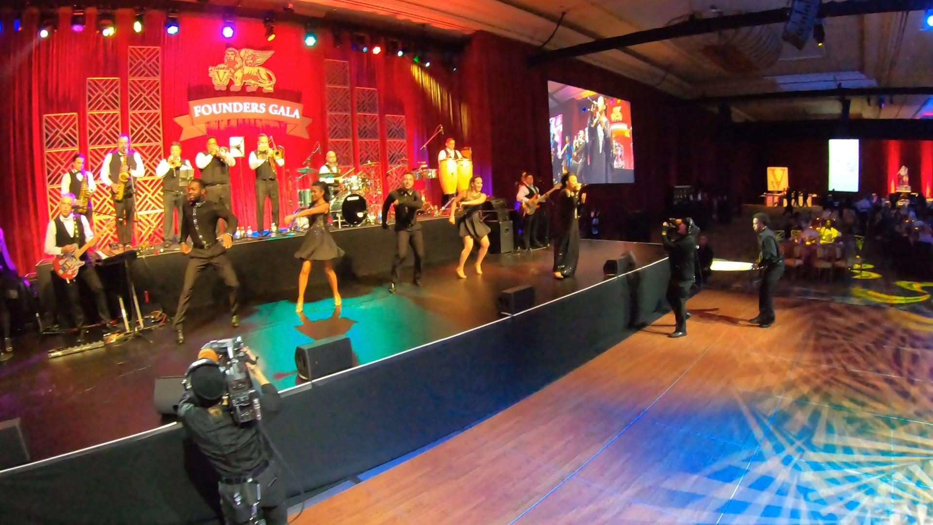 Celia Cruz Cover Medley - Latin Ambition Band LIVE at the Las Vegas Venetian Resort and Casino