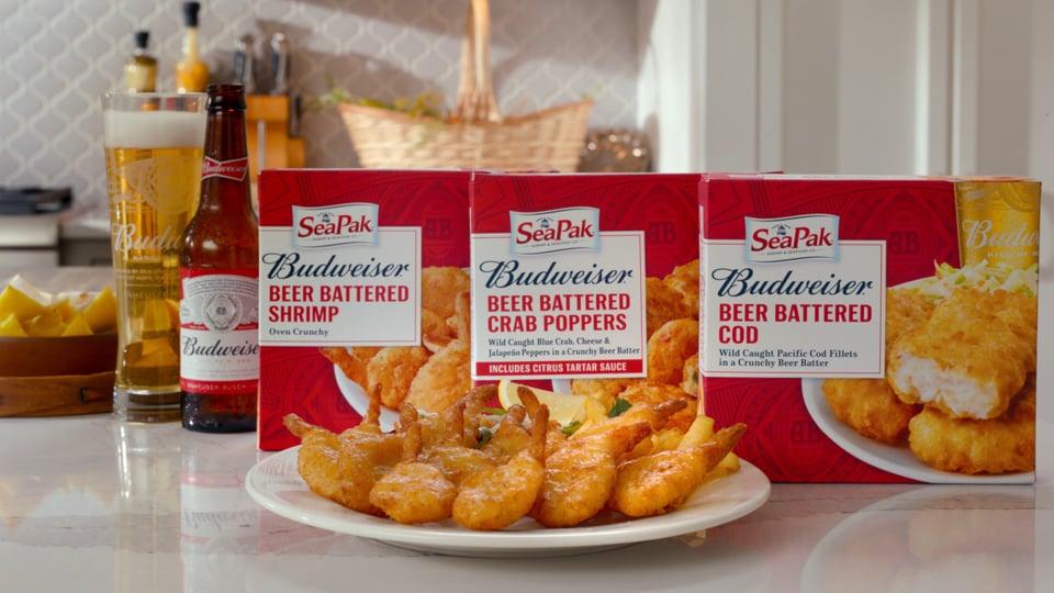 SeaPak & Budweiser