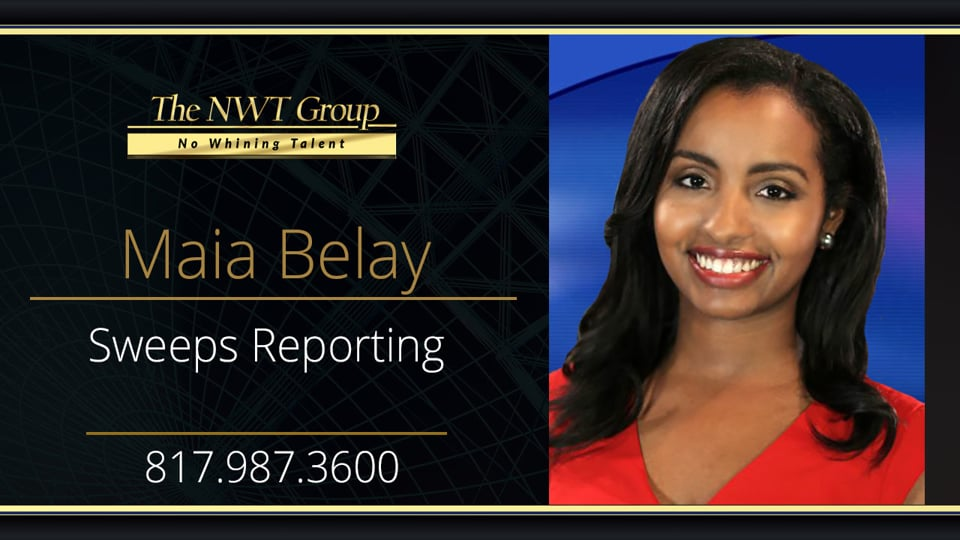 Sweeps Reporting