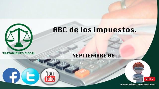 ABC de los impuestos.
