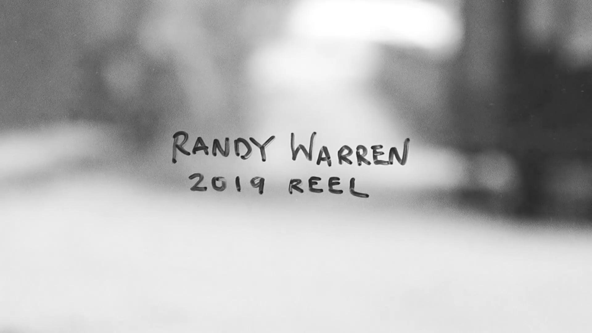 Randy Warren 2019 Reel