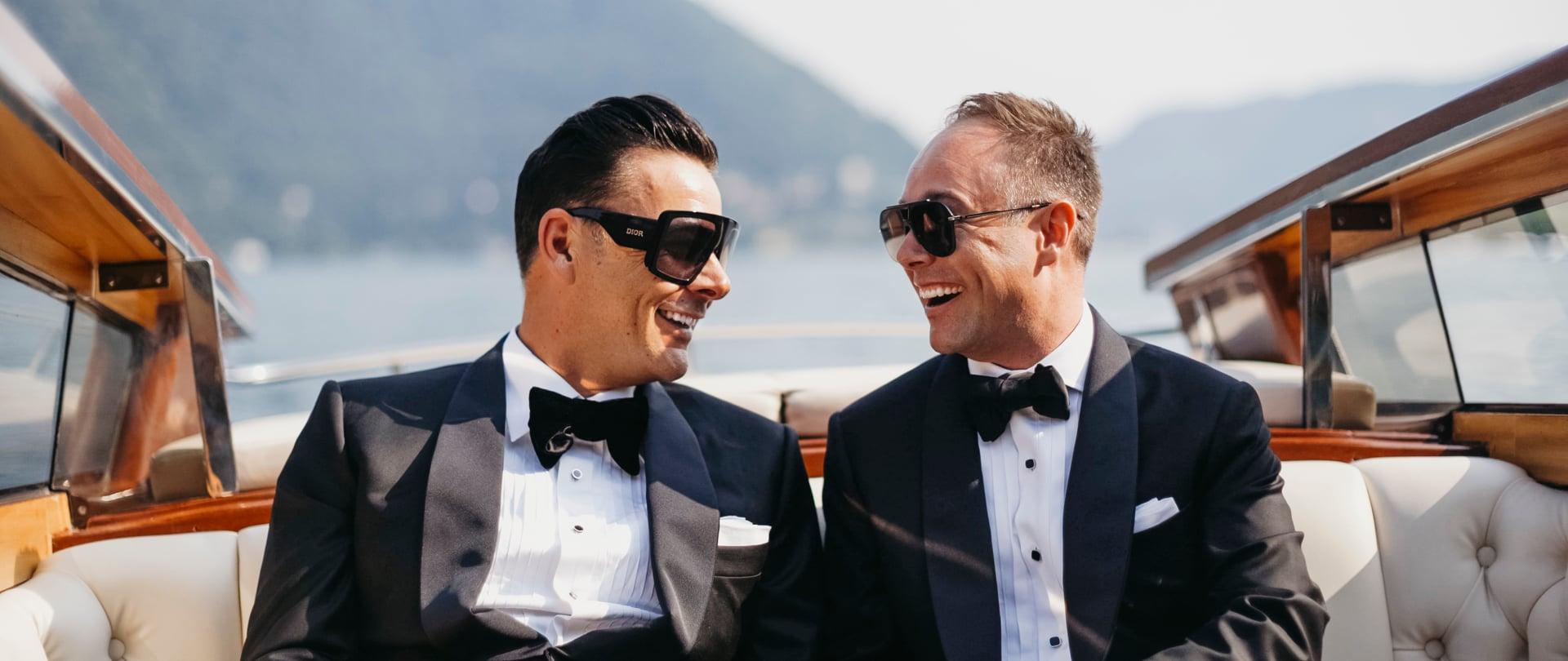 Joel & Shayne Wedding Video Filmed at Lake Como, Italy
