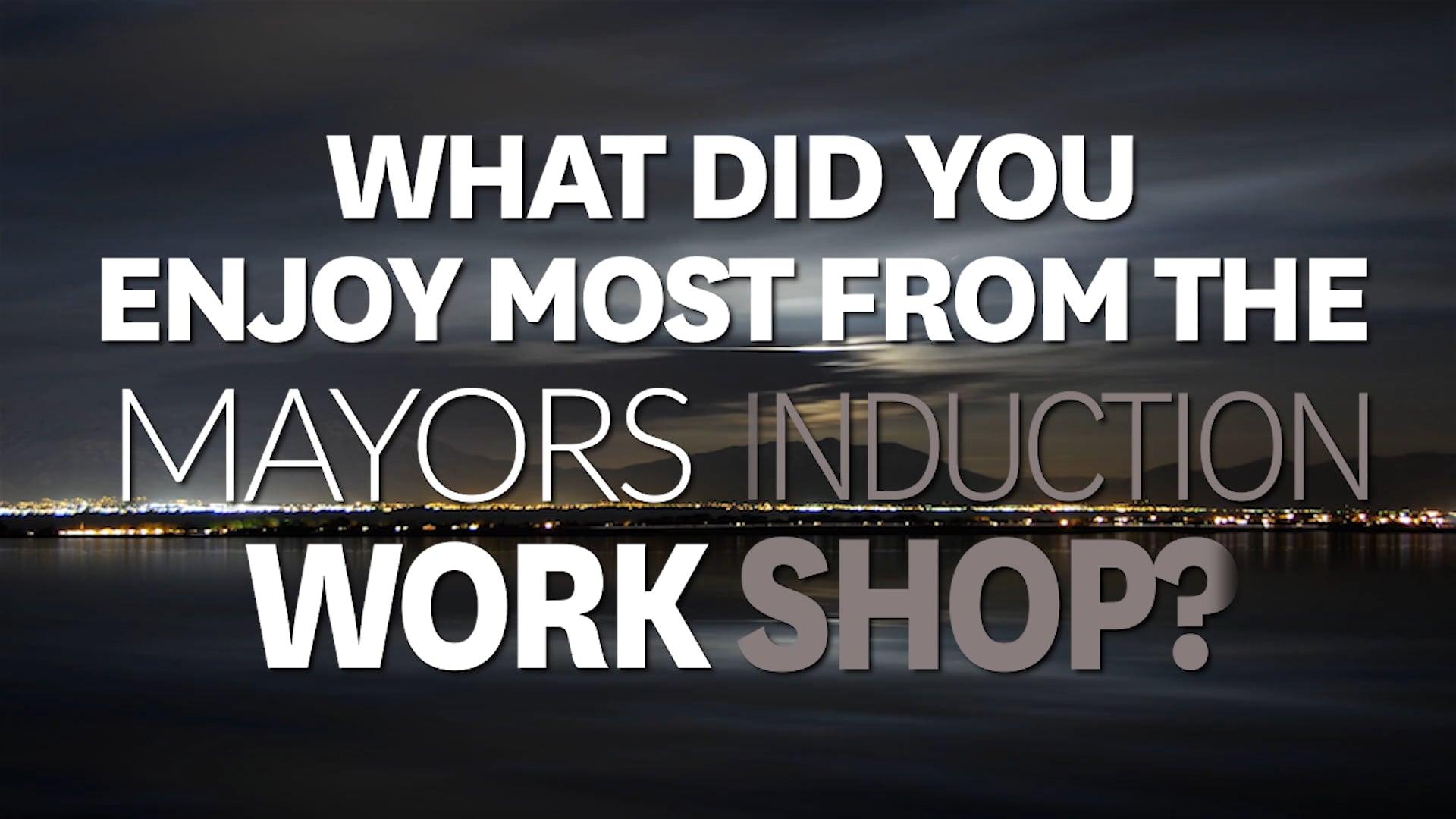 Mayors Induction - Sheryl Mai