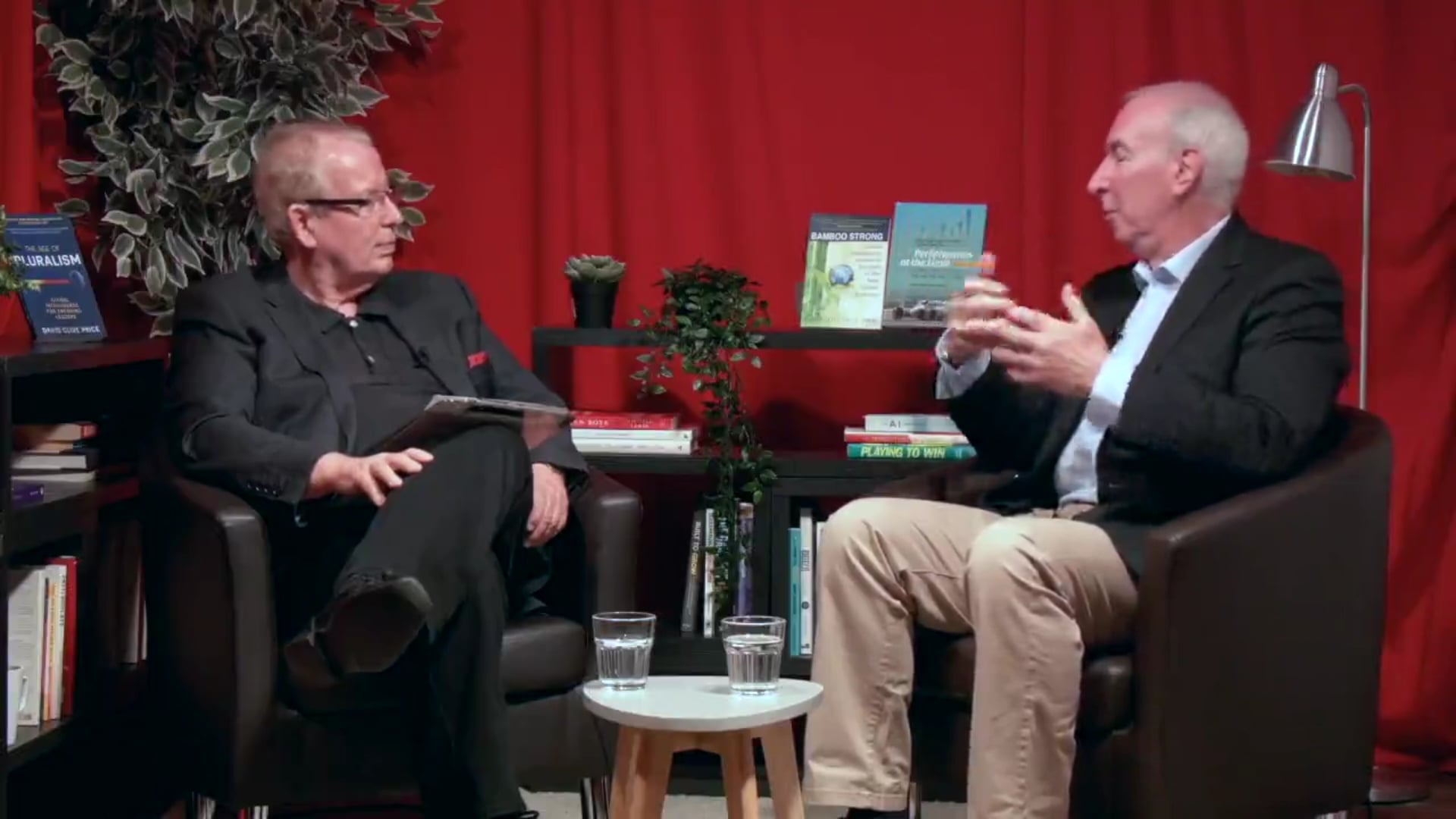 Excerpts from Ken Pasternak interview with David Clive Price in London June 28 2019