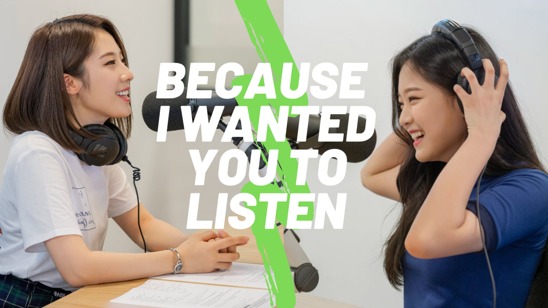 [ENG] Because I Wanted You to Listen - Hyunjin & Haseul (190829)