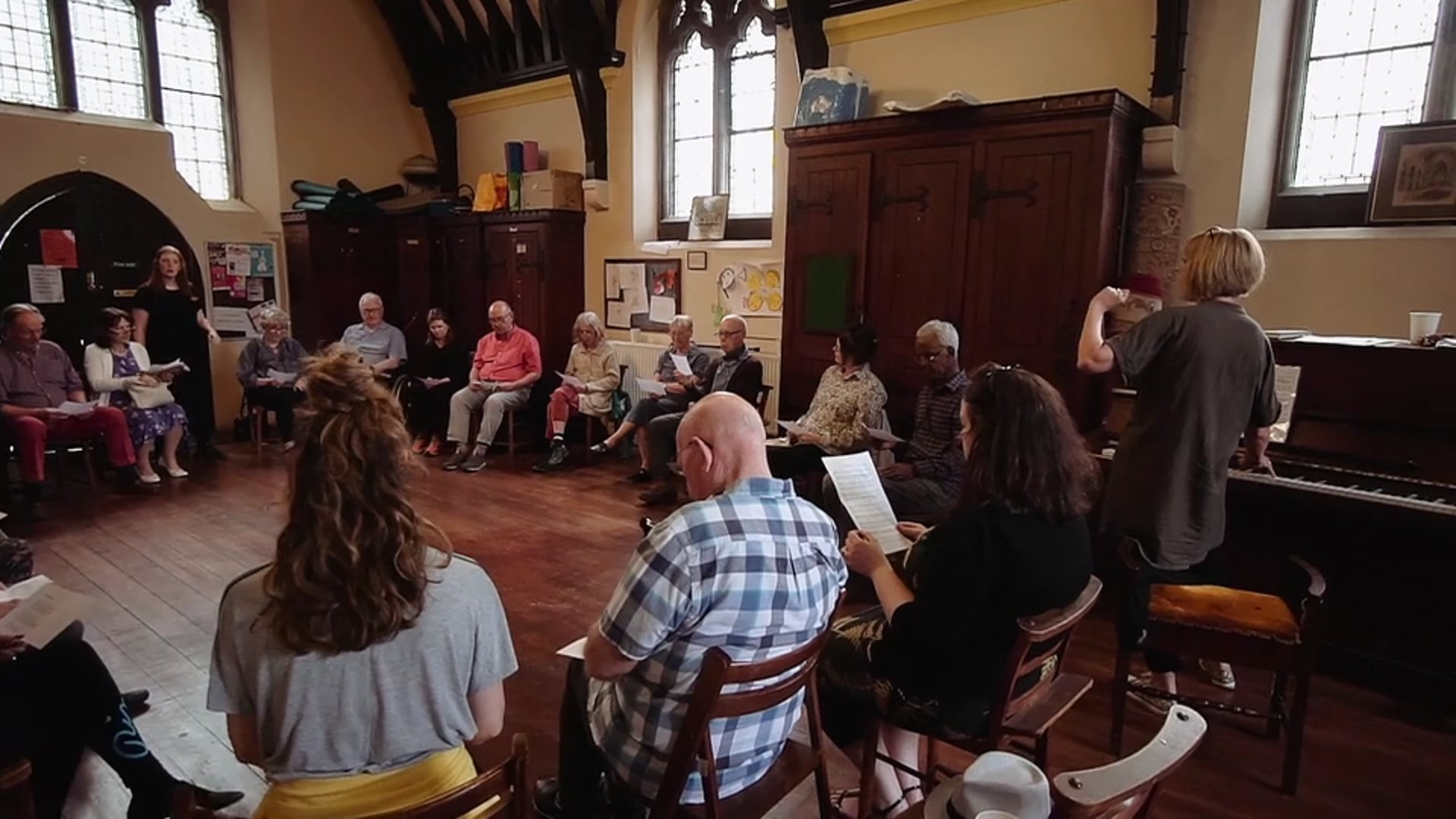 HerStory: Devising an Opera for Performers with Parkinson's