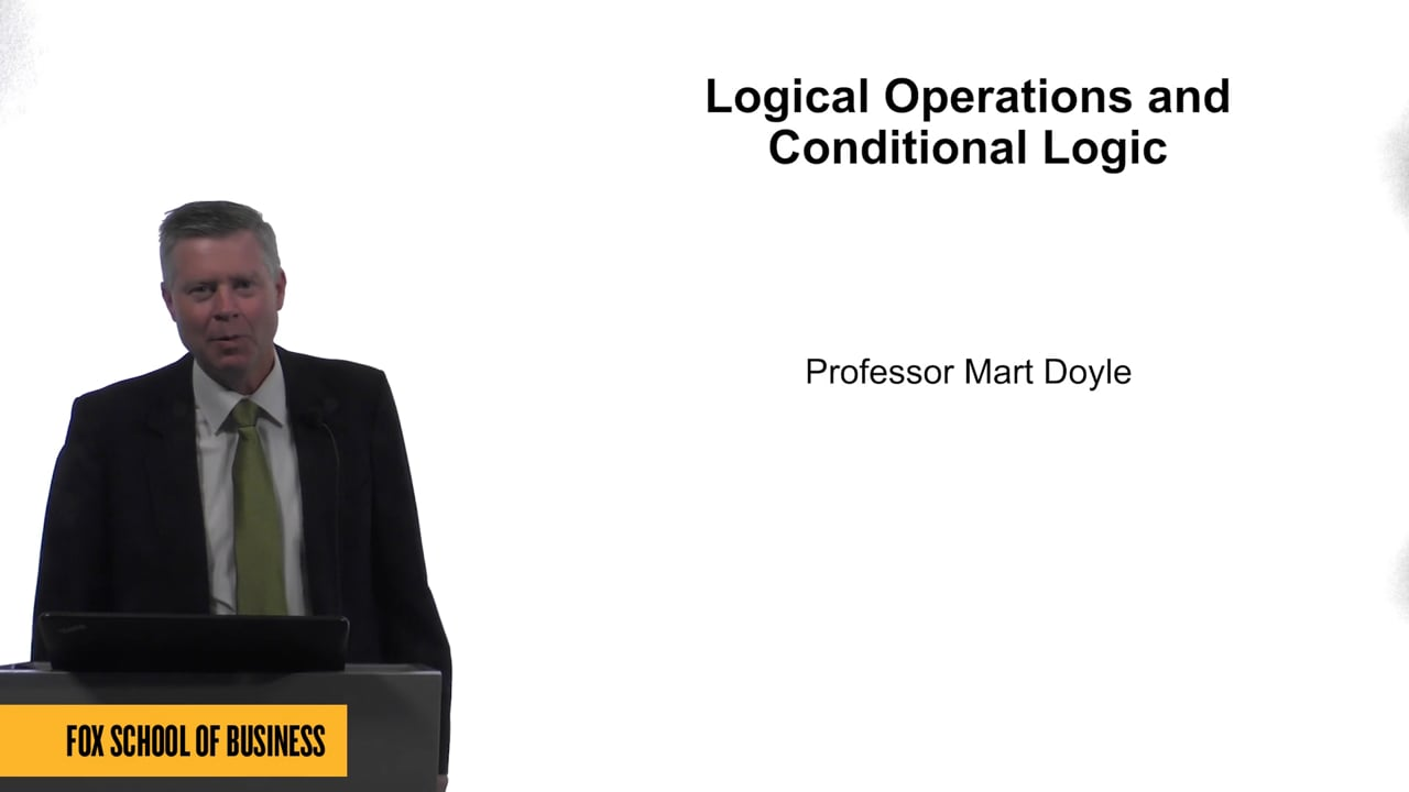 61594Logical Operations and Conditional Logic