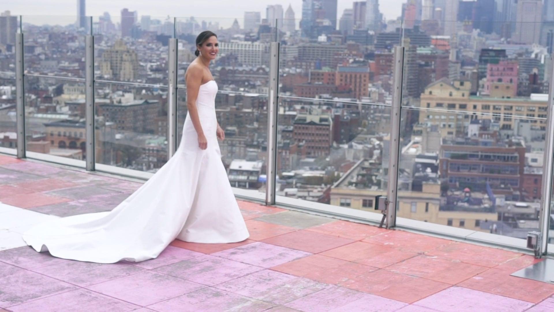 A Classic Manhattan Soirée | Melissa & Brian | Wedding Film