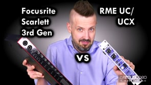 RME UC vs Focusrite Scarlett 3rd Gen