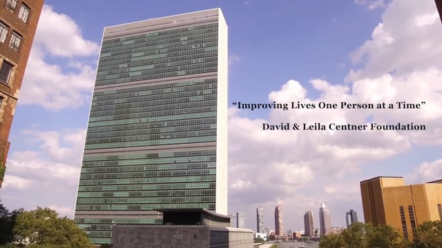 Improving Lives One Person at a Time ~ David & Leila Centner Foundation