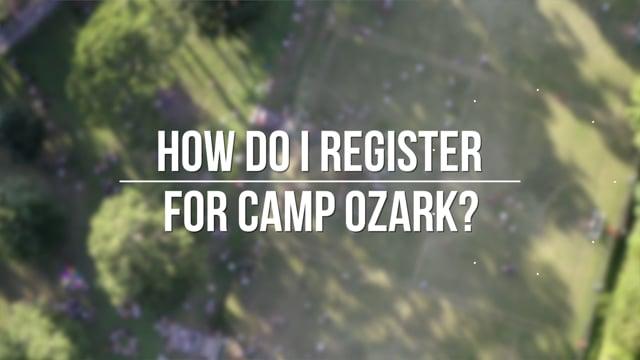 Camp Ozark 2020 - FAQs