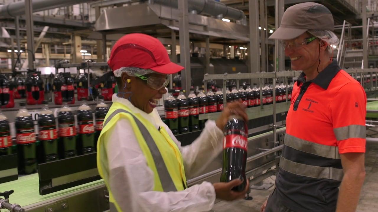 2019 Coca-Cola | Shay bezoekt Coca-Cola