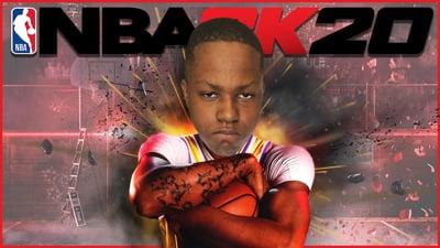 NBA 2K20 is Here! Running Park With My Ninjas! - Stream Replay