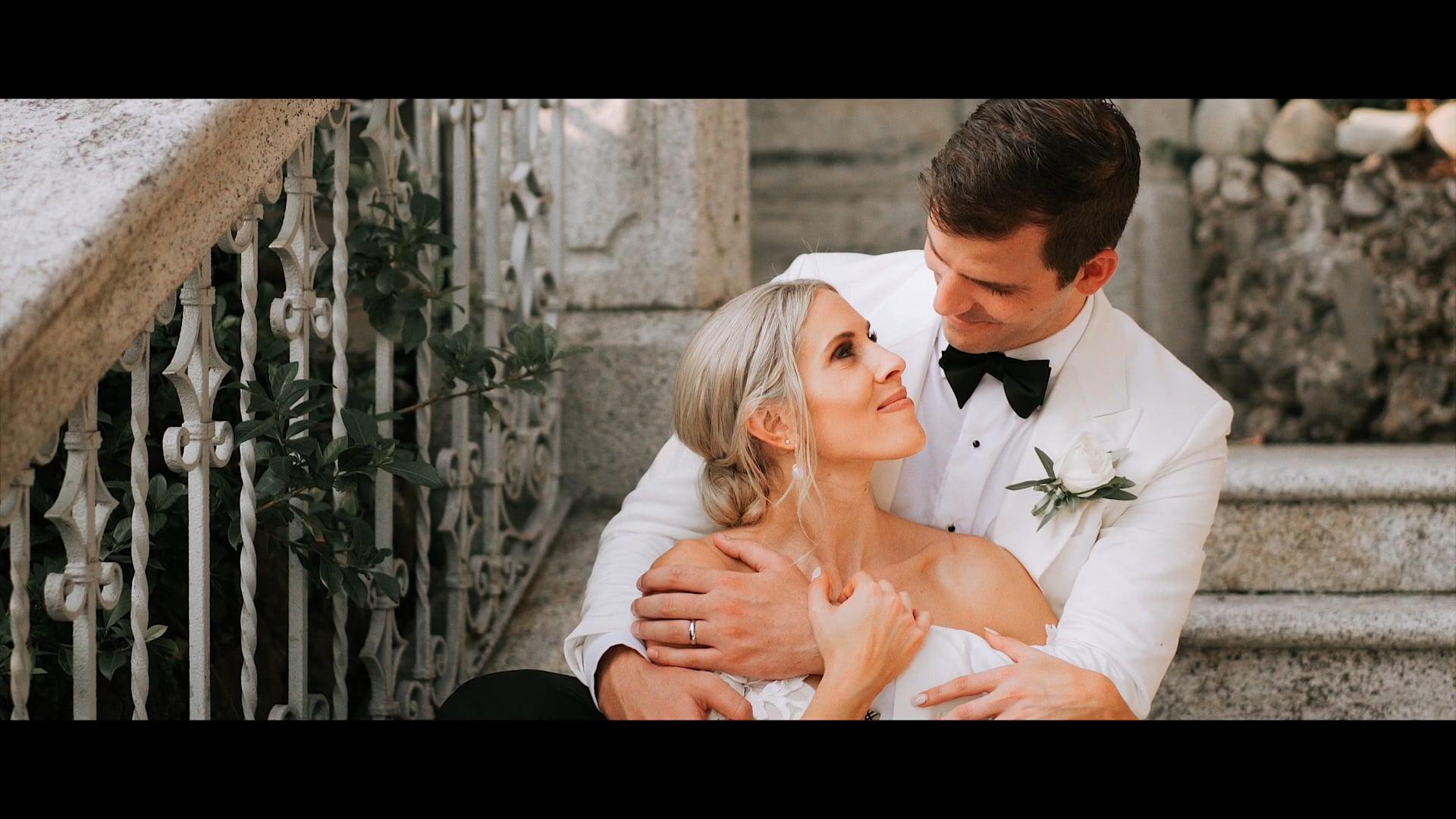 Keeley & Chris // Wedding in Como Lake