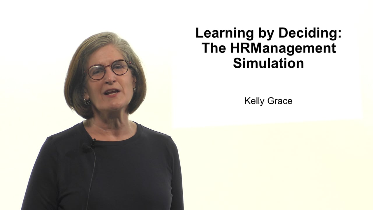 61599Learning by Deciding: The HRManagement Simulation