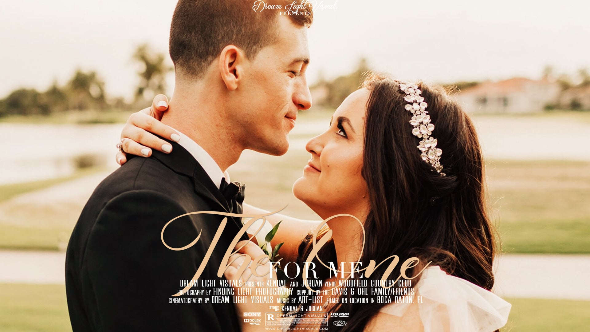 Romantic Wedding Film at Woodfield Country Club | Boca Raton, FL | Jordan & Kendal