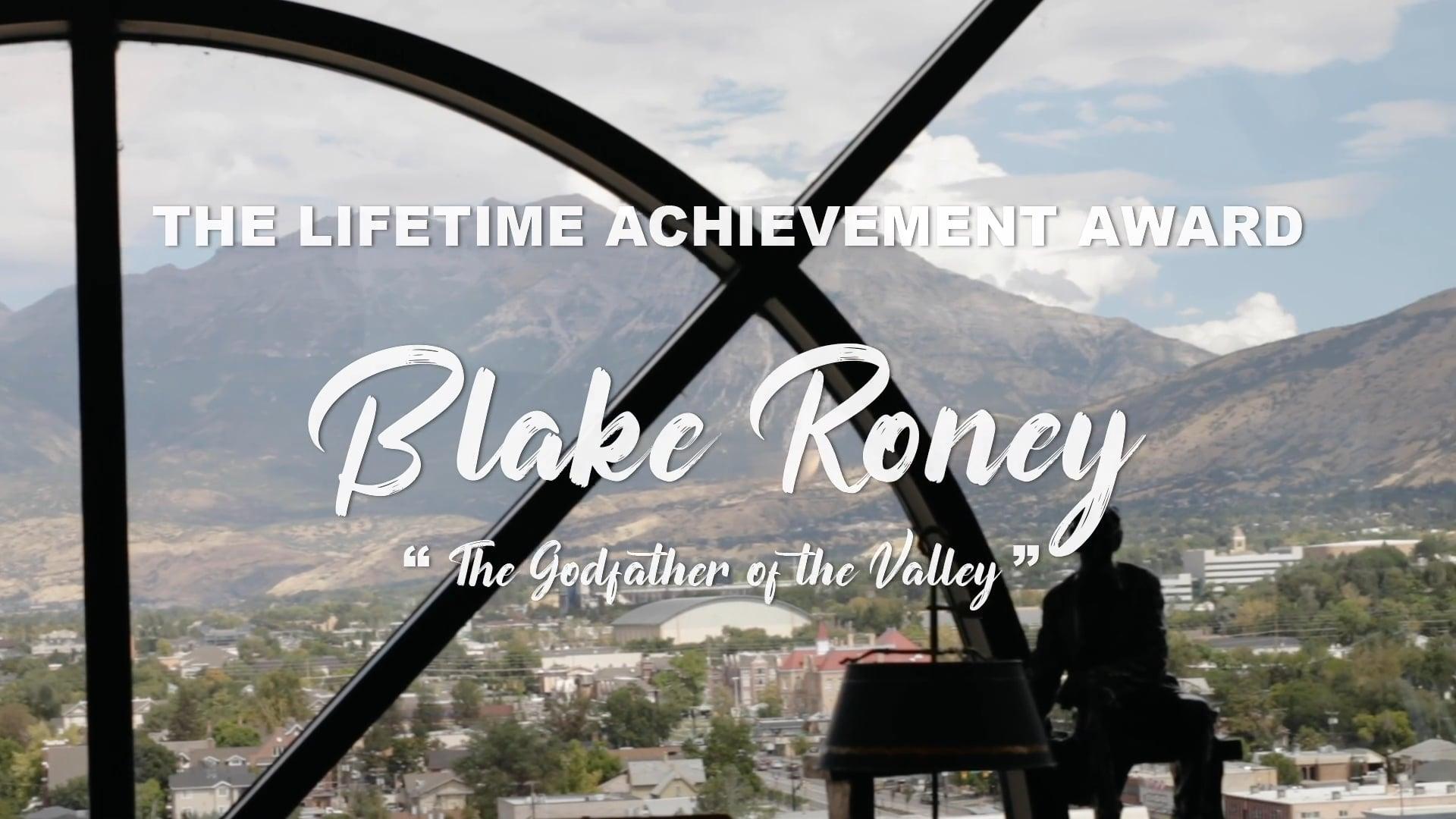 UV50 Lifetime Achievement Award: Blake Roney