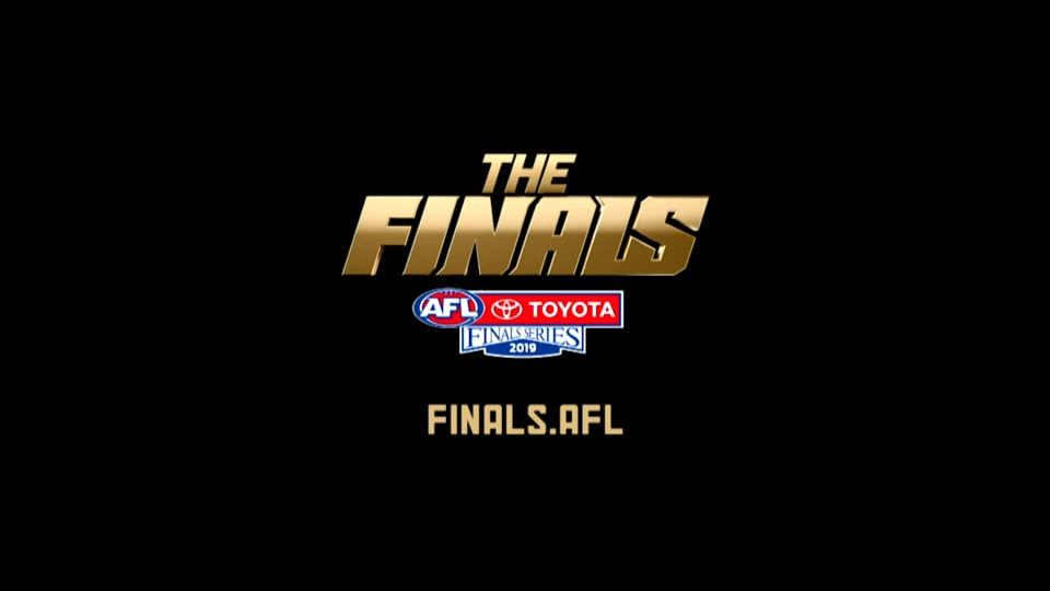 2019 Toyota AFL Finals Series 'Don't Believe in Never'