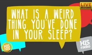 Lena Sleep Walks and One Night Slept on the Fridge