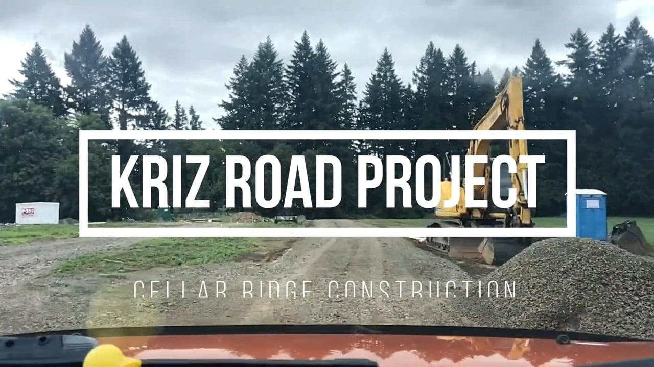 Kirz Road 9-20-19