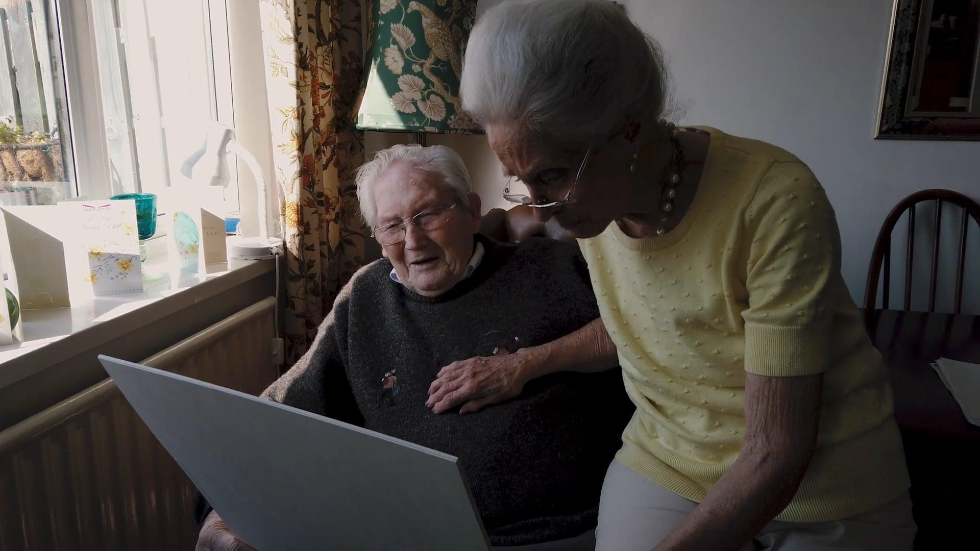 Veteran David Edwards sees his Portrait