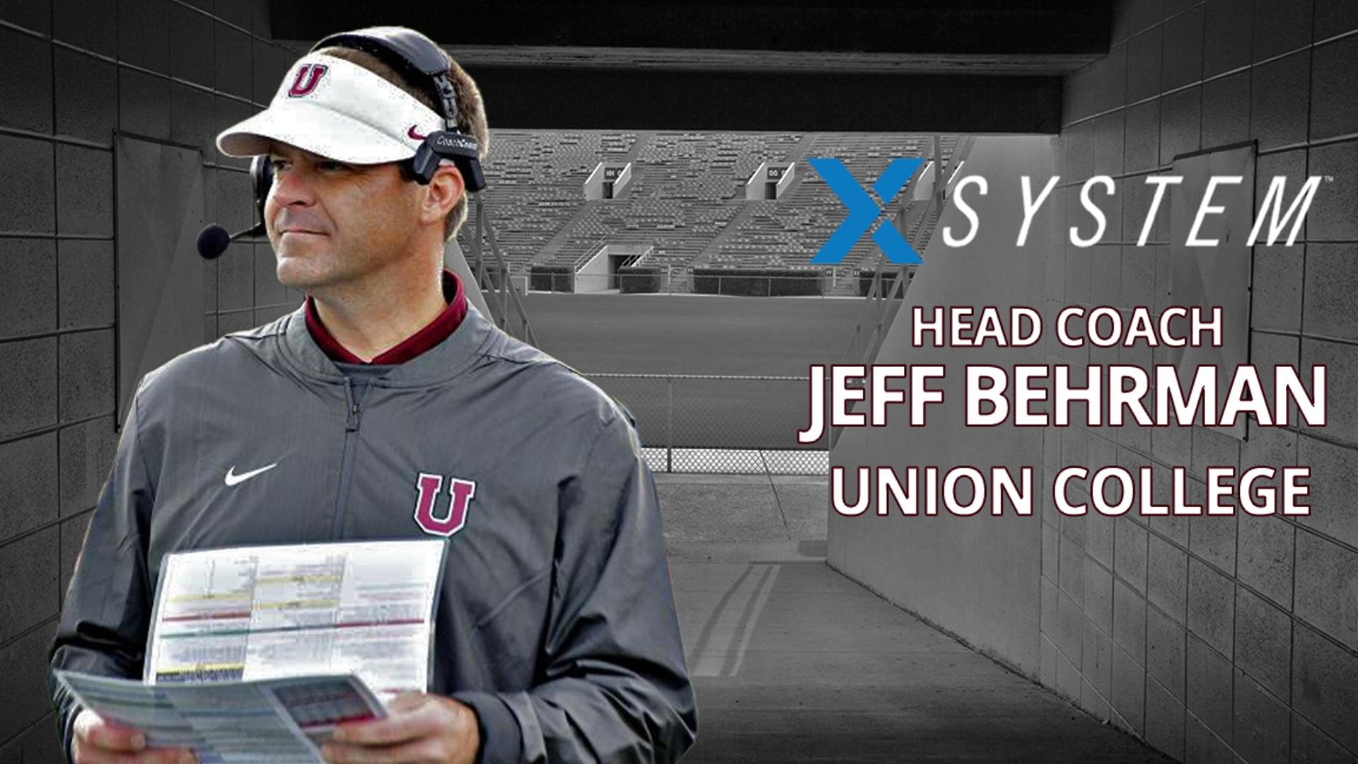 X-System: Jeff Behrman, Union College