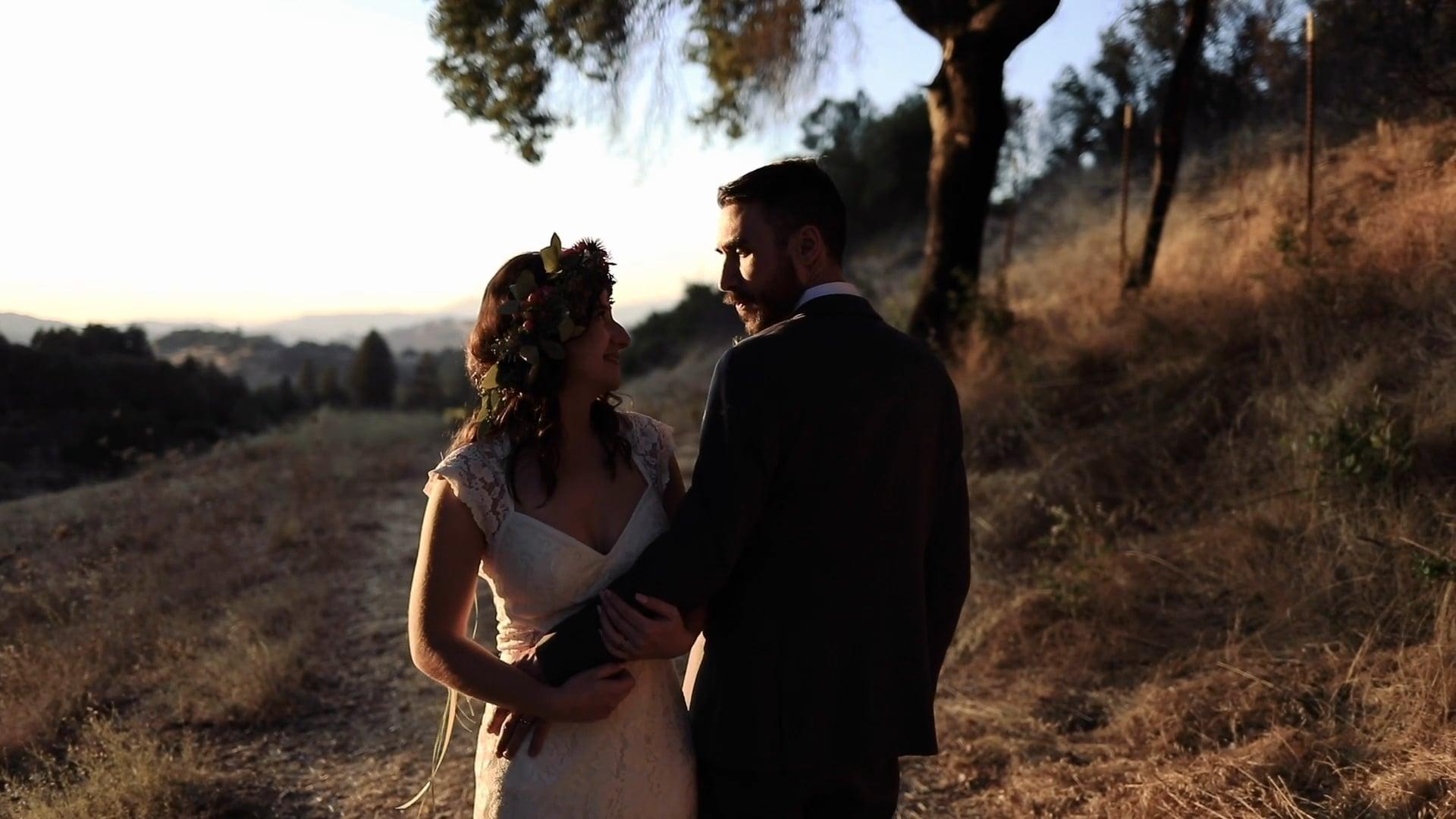 The Wedding of Meg & AJ // Hans Fahden, Calistoga, CA