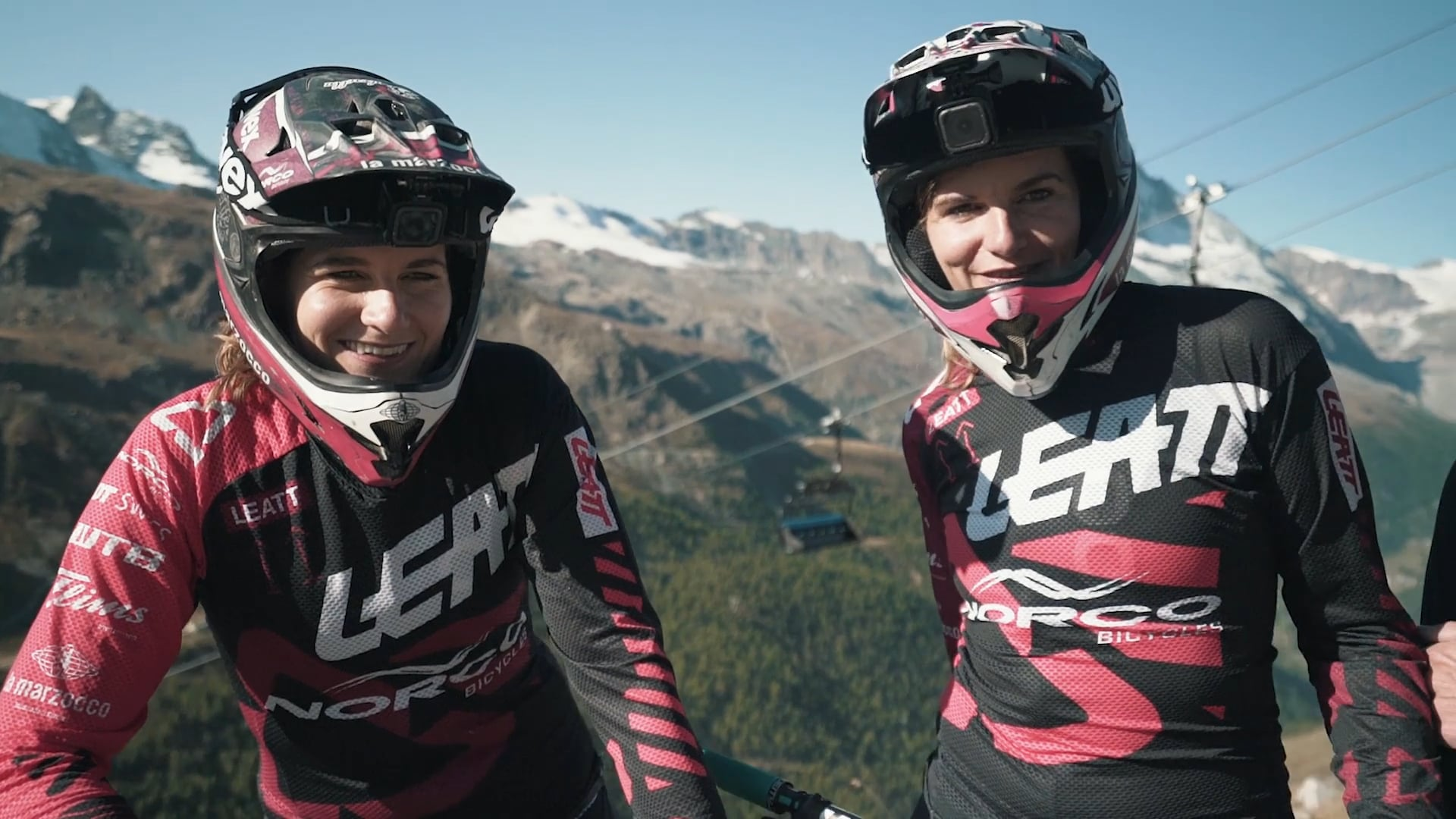 EWS Zermatt- behind the race tape with the Gehrig Twins
