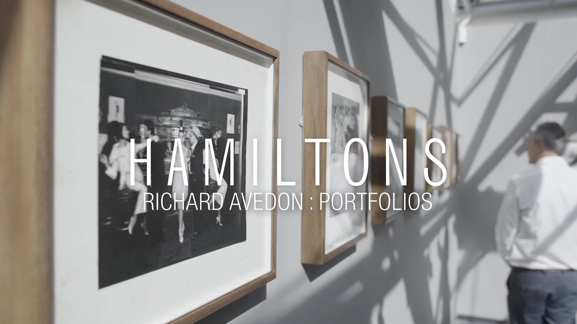Hamiltons Gallery presents Richard Avedon: Portfolios