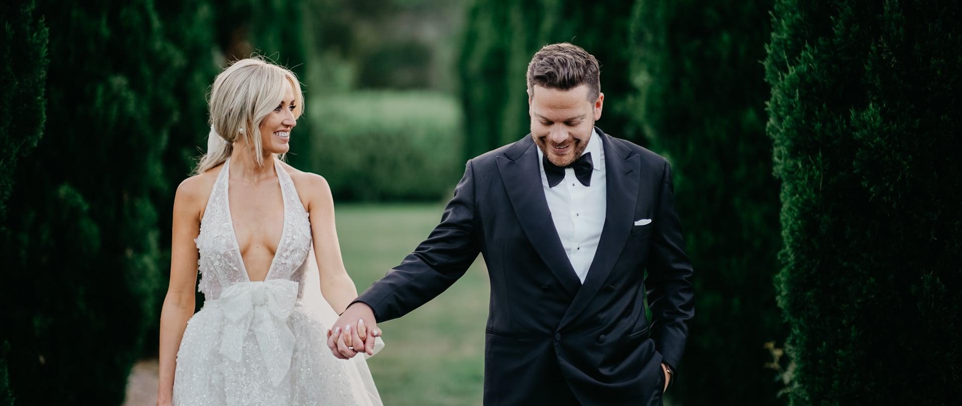 Montarna & Nick Wedding Video Filmed at Hunter Valley, New South Wales