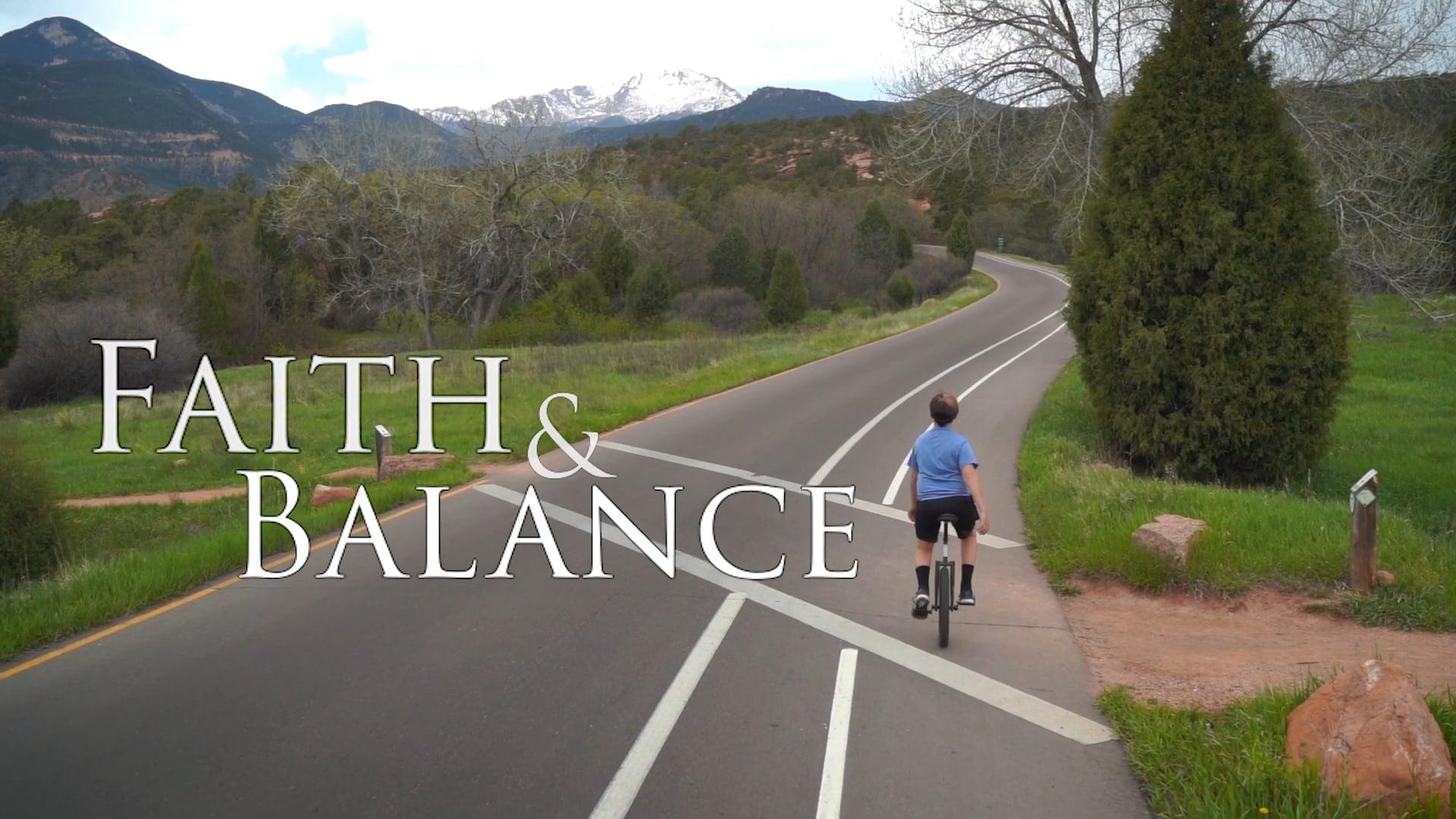 Faith and Balance