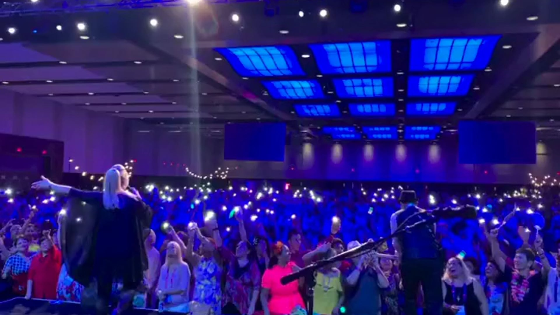 Blonde Ambition live at the Orange County Convention Center