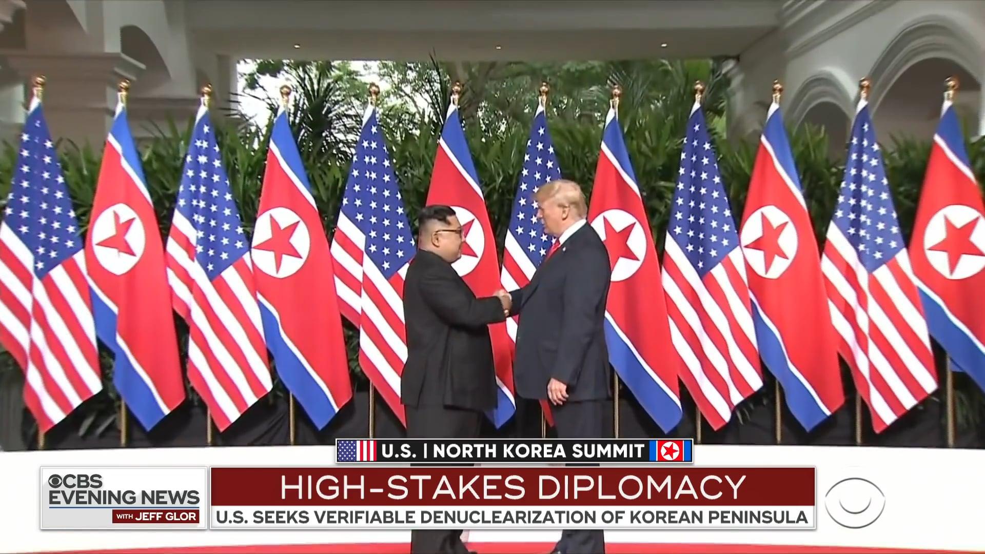 CBS NEWS - Trump and Kim Jong Un Vietnam Summit (2019)