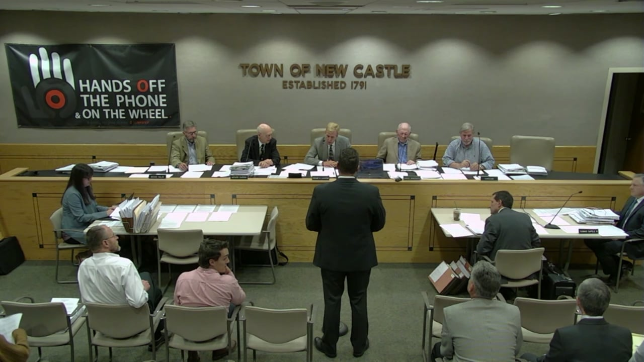 Town of New Castle Zoning Board Meeting 9/25/19