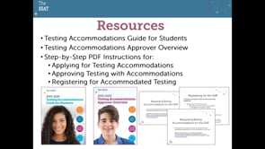 All About SSAT Test Accommodations for Students and Families (2019-2020)
