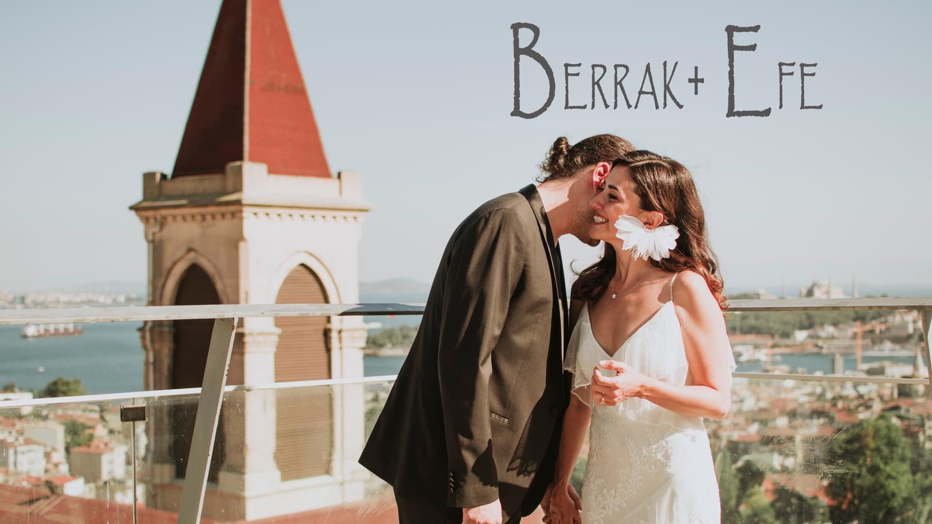 Berrak + Efe Wedding   360 İstanbul Beyoğlu