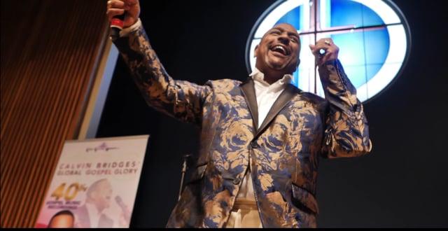 Calvin Bridges 40th year in Gospel music